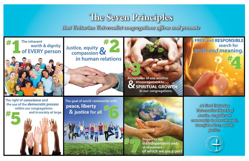 Seven principles poster