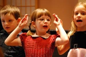 Children's Choir performance
